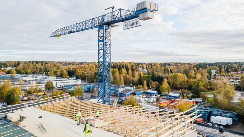 Ohjelmistokehitystä rakennusteollisuudelle